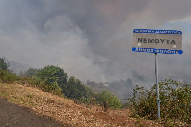 Συνεχίζεται η μάχη των πυροσβεστών στην Πελοπόννησο – Καλύτερη η εικόνα των μετώπων | tovima.gr