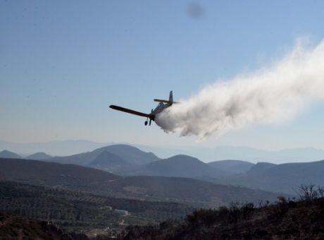 Ζάκυνθος: Έπεσε αεροσκάφος που επιχειρούσε στη φωτιά – Σώος ο πιλότος | tovima.gr