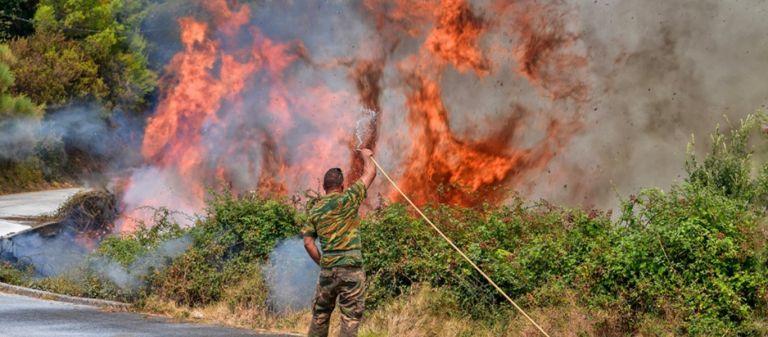 ΓΓΠΠ – Πολύ υψηλός κίνδυνος πυρκαγιάς για 5 Περιφέρειες | tovima.gr