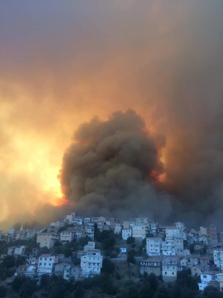 Αλγερία – Πέντε νεκροί από τις πυρκαγιές – Στους 46 βαθμούς η θερμοκρασία   tovima.gr