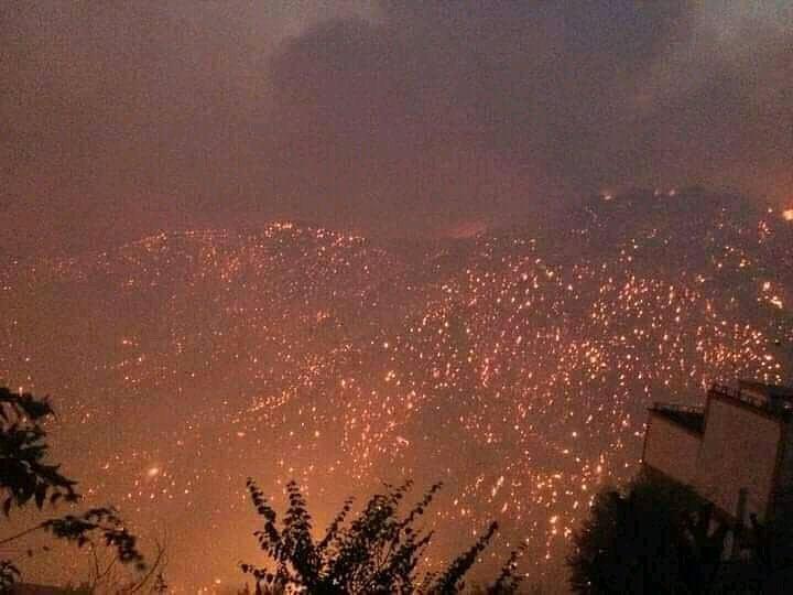 Φωτιά στην Εύβοια – Συνεχίζεται για 8η μέρα η μάχη με τις φλόγες – Η πύρινη λαίλαπα απείλησε Καματριάδες και Αβγαριά | tovima.gr