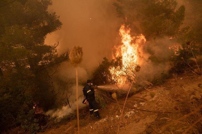 Φωτιά στην Αρκαδία – Μήνυμα εκκένωσης σε οικισμούς της Γορτυνίας | tovima.gr