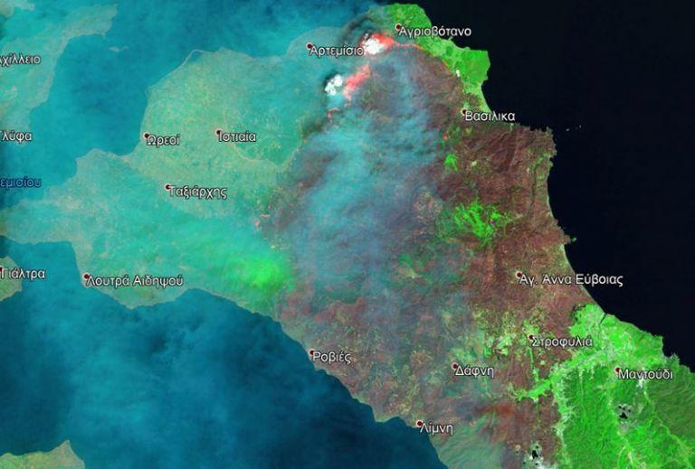 Βόρεια Εύβοια – Μέσα σε τρεις ημέρες κάηκαν άλλα 50.000 στρέμματα | tovima.gr