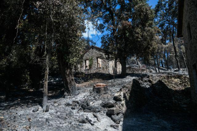 To Tατόι πριν και μετά την πυρκαγιά – Αποκαλυπτικές φωτογραφίες | tovima.gr