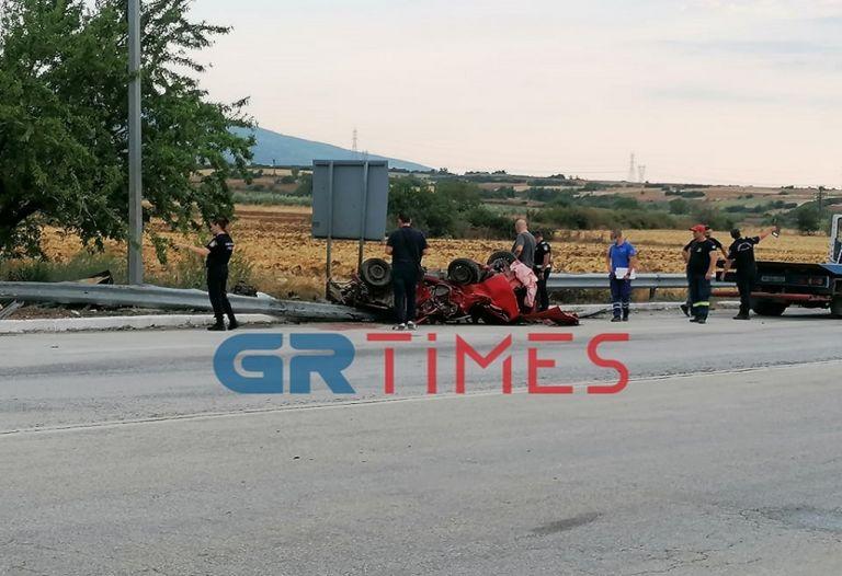 Σέρρες – Σοκαριστικό τροχαίο με τρεις νεκρούς | tovima.gr