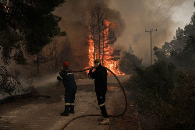 Συναγερμός στην Πυροσβεστική – Νέα φωτιά στην Εύβοια   tovima.gr