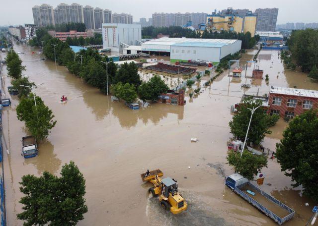 Κίνα – Τουλάχιστον 21 νεκροί από τις καταρρακτώδεις βροχές   tovima.gr