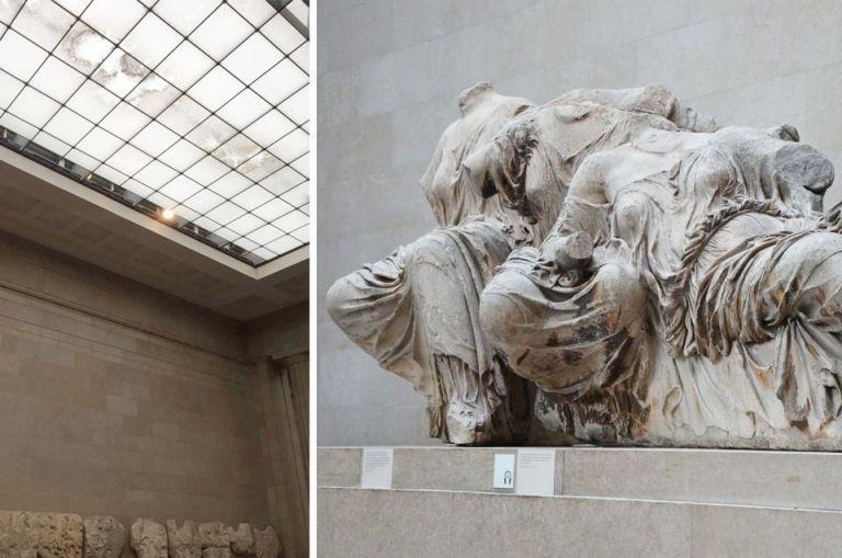 Βρετανικό Μουσείο – Εικόνες εγκατάλειψης, μπήκε νερό από την οροφή – Η αντίδραση της Μενδώνη | tovima.gr