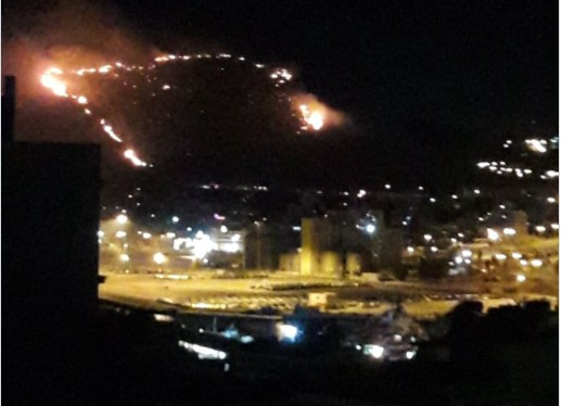 Πυρκαγιά στο Πέραμα – Καλύτερη η εικόνα και χωρίς ενεργό μέτωπο   tovima.gr