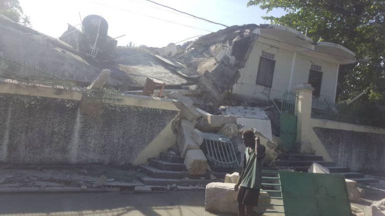 Αϊτή – Νεκροί από τον ισχυρό σεισμό των 7,2 Ρίχτερ | tovima.gr