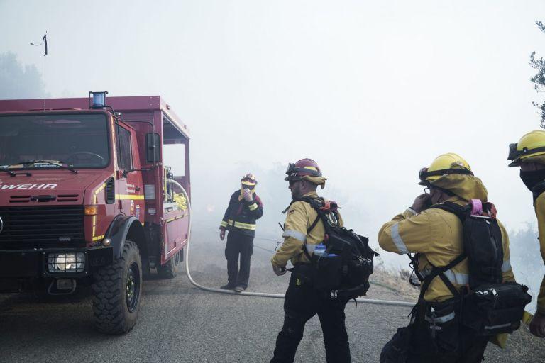 Φωτιές – Η Πυροσβεστική συνεχίζει να επιχειρεί σε Γορτυνία, Αρχαία Ολυμπία και Ανατολική Μάνη | tovima.gr