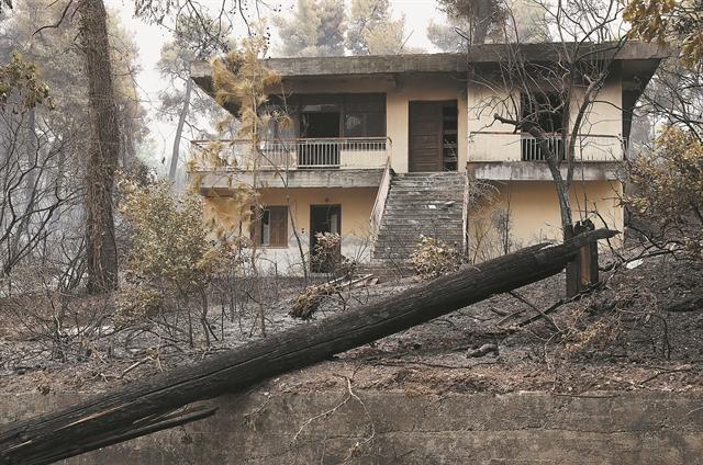 Αποζημειώσεις – Έως 20.000 ευρώ η πρώτη δόση για τα καμένα σπίτια   tovima.gr