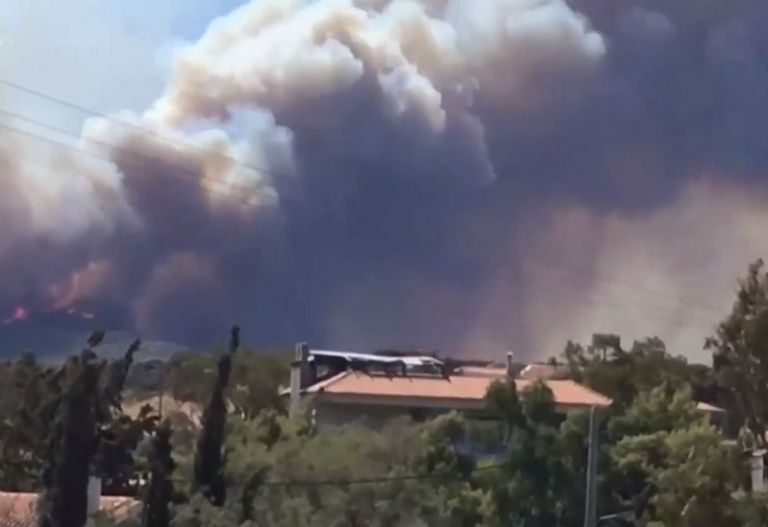 Φωτιά στην Κερατέα – Εκκενώθηκε το Μαρκάτι – «Έχουν καεί σπίτια» λέει ο δήμαρχος Λαυρεωτικής στο in.gr | tovima.gr