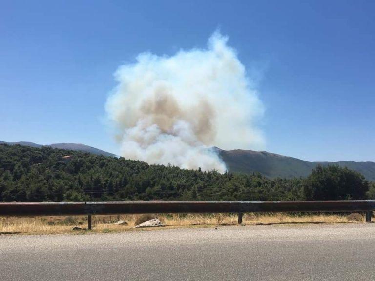 Βίλια – Ανεξέλεγκτη η φωτιά – Εκκένωση 4 οικισμών – Διακοπή κυκλοφορίας | tovima.gr