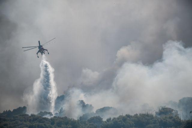 Κερατέα – Ορατός από το διάστημα ο καπνός από τη φωτιά – Πότε θα κοπάσουν οι άνεμοι   tovima.gr