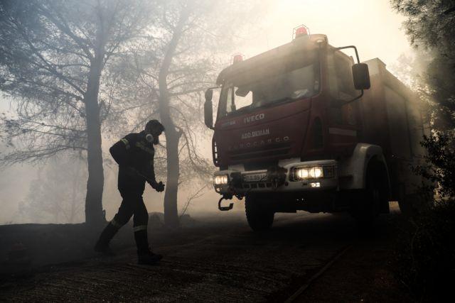 Κερατέα – Μάχη με τις αναζωπυρώσεις στη Λαυρεωτική – Στην περιοχή επιχειρούν επίγειες και εναέριες δυνάμεις   tovima.gr