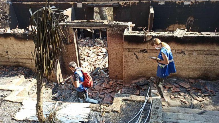 Συνεχίζεται ο έλεγχος κτιρίων στις πυρόπληκτες περιοχές – Επικίνδυνες 360 κατοικίες   tovima.gr