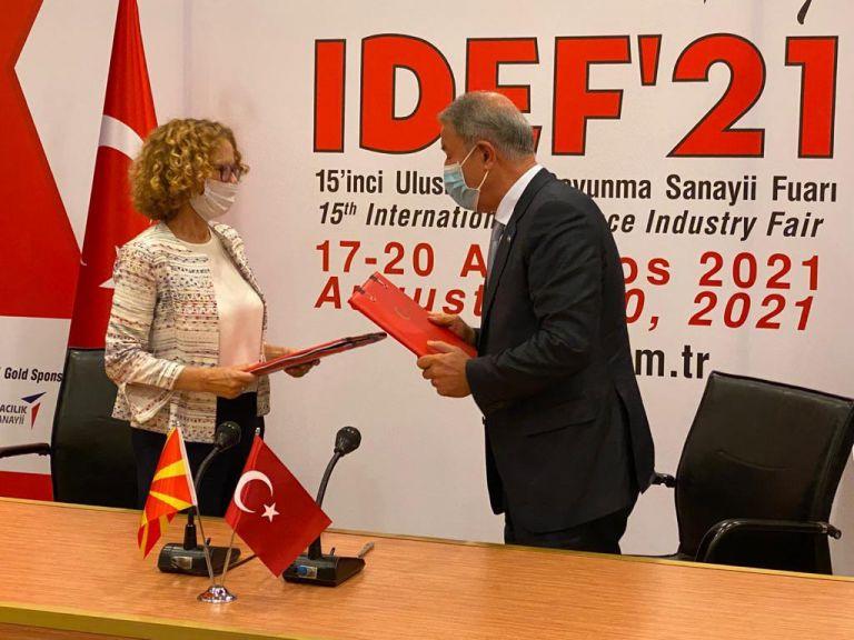 Βόρεια Μακεδονία – Υπέγραψε 5ετή στρατιωτική και οικονομική συμφωνία με την Τουρκία | tovima.gr