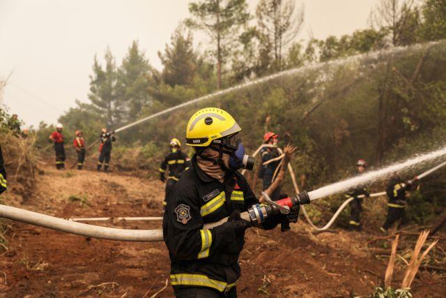 Φωτιές – Ερχονται κι άλλοι πυροσβέστες από το εξωτερικό – «Ευχαριστώ» Μητσοτάκη σε Πολωνούς   tovima.gr