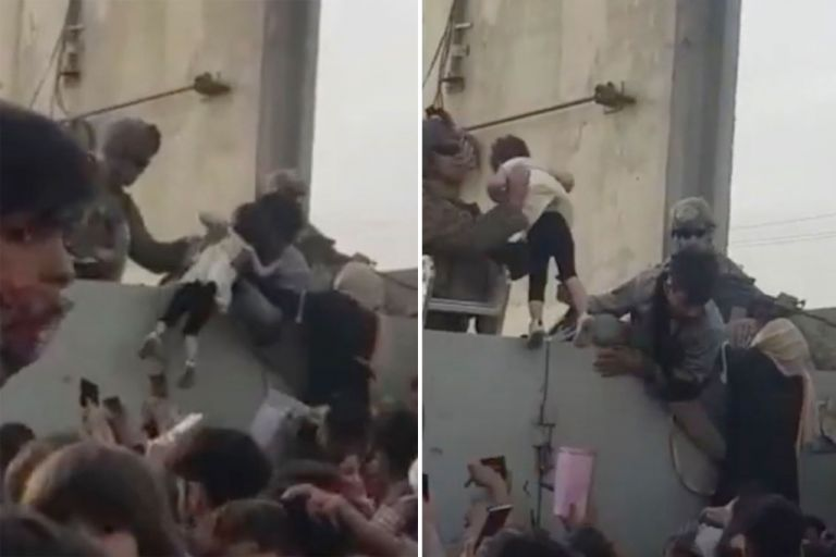 H «Ευρώπη του Διαφωτισμού» βάζει μανάδες να πετάνε τα παιδιά τους πάνω από το συρματόπλεγμα για να τα σώσουν   tovima.gr
