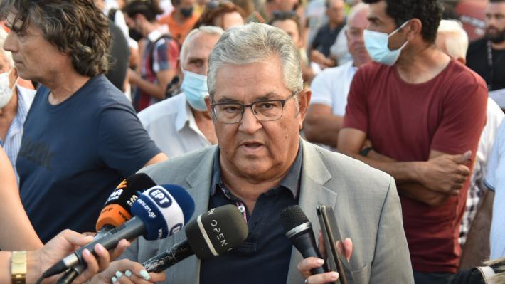 Κουτσούμπας στο συλλαλητήριο πυροπλήκτων Β. Εύβοιας – «Αυτό το έγκλημα να μην παραγραφεί»   tovima.gr