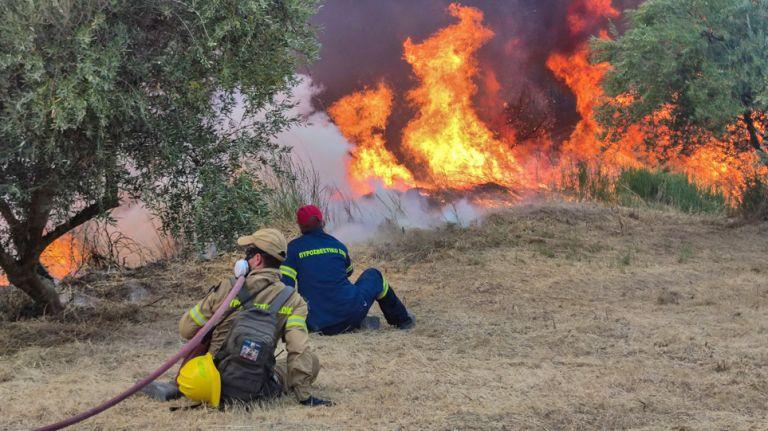 Φωτιά στην Αρχαία Ολυμπία – Διπλό μέτωπο σε Ηράκλεια και φράγμα Αλφειού   tovima.gr