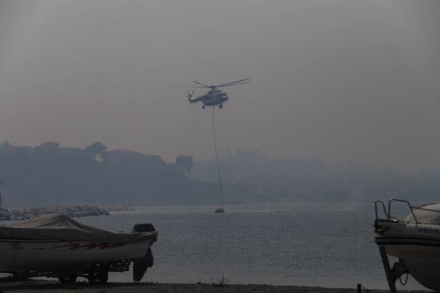 Εναέριες περιπολίες με έμφορτα πυροσβεστικά αεροσκάφη – Στρατός και Αστυνομία σε δάση και βουνά σε όλη την Ελλάδα | tovima.gr