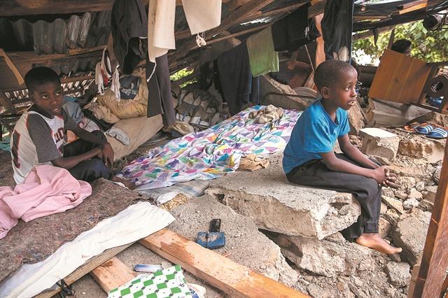 Η επίγεια κόλαση της Αϊτής | tovima.gr