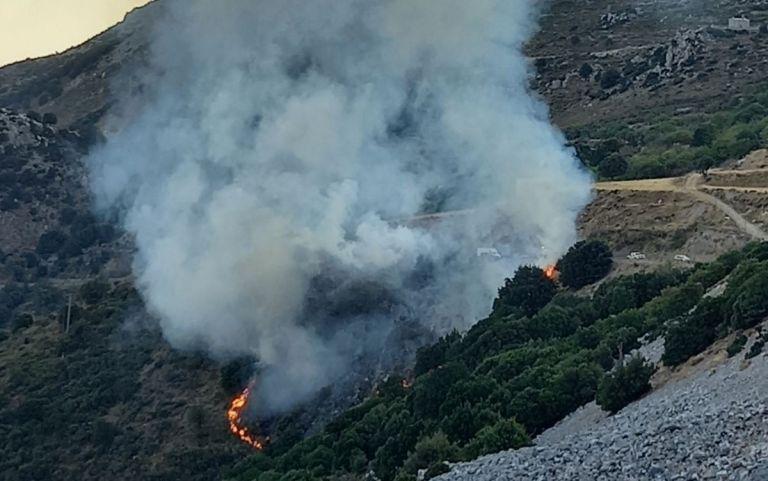 Λασίθι – Φωτιά σε χαμηλή βλάστηση – Στον δρόμο προς την Κερά   tovima.gr