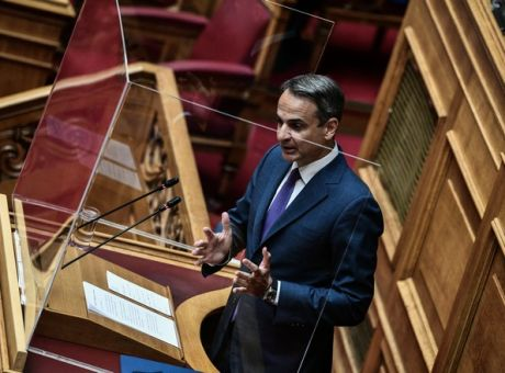 Mitsotakis blames disastrous wildfires on climate change, seeks consensus on restructuring   tovima.gr