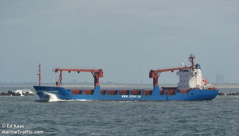 Βυθίστηκε φορτηγό πλοίο στο Μυρτώο  – Επιχείρηση διάσωσης | tovima.gr