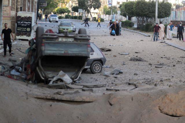 Λωρίδα της Γάζας – Ισραηλινά μαχητικά αεροσκάφη έπληξαν στόχους της Χαμάς   tovima.gr
