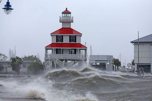ΗΠΑ – Ο τυφώνας Άιντα «ξηλώνει» την οροφή νοσοκομείου | tovima.gr