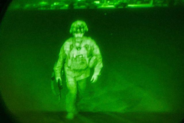 Αφγανιστάν – Ο Αμερικανός αξιωματικός που έφυγε τελευταίος | tovima.gr
