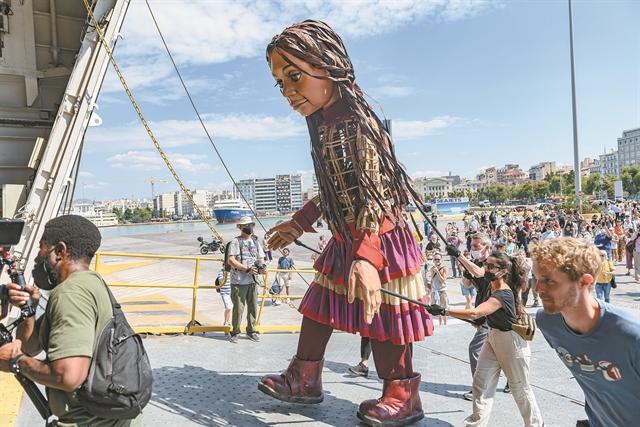 Το ταξίδι της Αμάλ στην Ελλάδα | tovima.gr