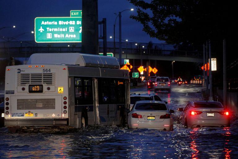 Καταιγίδα Άιντα – Στους 9 νεκροί – Χάος σε Νέα Υόρκη και Νιου Τζέρσι   tovima.gr