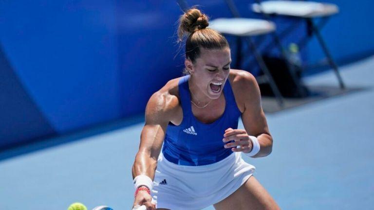 Κατερίνα Σινιάκοβα – Μαρία Σάκκαρη 0-2 – Ισοπεδωτική στους «32» του US Open   tovima.gr