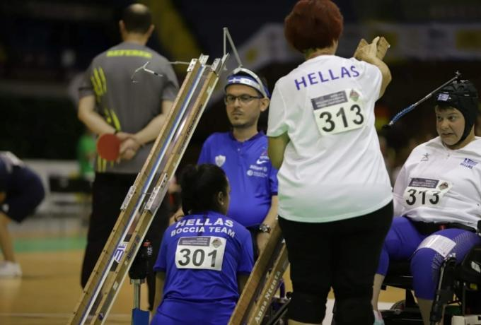 Παραολυμπιακοί Αγώνες – Δέκατο μετάλλιο για την Ελλάδα – Χάλκινο το ομαδικό στο άθλημα μπότσια | tovima.gr