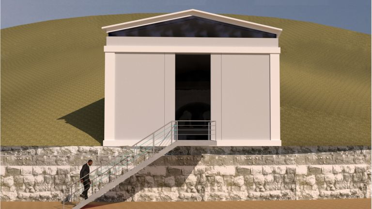 ΚΑΣ – Ομόφωνα «ναι» σε μελέτες κατασκευής εξωτερικού κελύφους στον τύμβο Καστά Αμφίπολης | tovima.gr