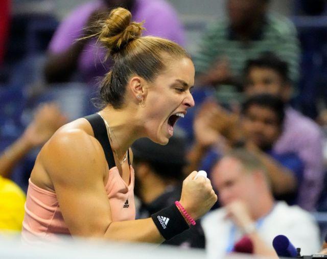 Σάκκαρη – Πρόκριση στους «8» του US Open με νίκη – θρίλερ επί της Αντρεέσκου | tovima.gr