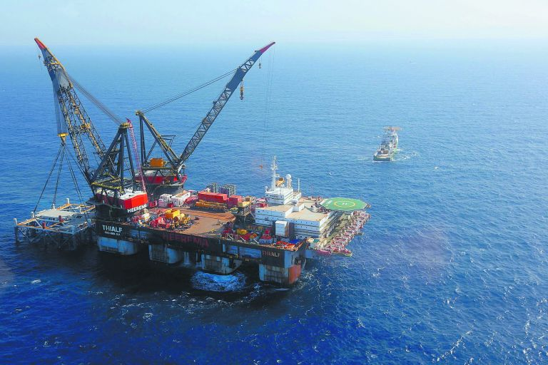 Last chance for the natural gas deposits of Greece   tovima.gr