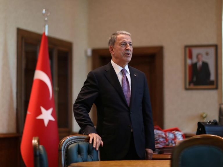 Παραλήρημα Ακάρ για Αιγαίο – Αταλάντευτη η Τουρκία στο δόγμα της «Γαλάζιας Πατρίδας»   tovima.gr