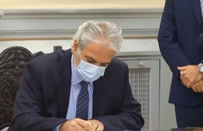 Ορκίστηκε η ηγεσία του νέου υπουργείου Κλιματικής Κρίσης και Πολιτικής Προστασίας   tovima.gr
