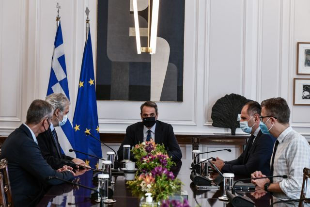Μητσοτάκης – Θα οικοδομήσουμε μία υποδομή που θα γίνει πρότυπο στην Ευρώπη – Σύσκεψη με Στυλιανίδη και Τουρνά | tovima.gr