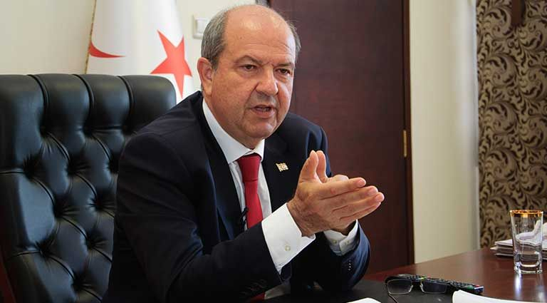 The entire island of Cyprus should be handed over to Turkey says Turkish Cypriot leader   tovima.gr