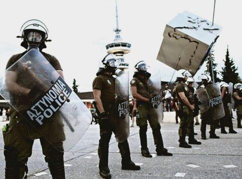 Θεσσαλονίκη – ΜΑΤ, ελικόπτερα και drones για την αποτροπή επεισοδίων στη ΔΕΘ – Οι 5 πορείες | tovima.gr