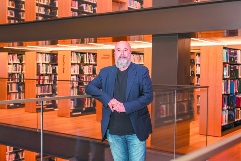 Ανδρέας Δρακόπουλος – «Η αξία μιας δημόσιας βιβλιοθήκης είναι σπουδαία»   tovima.gr