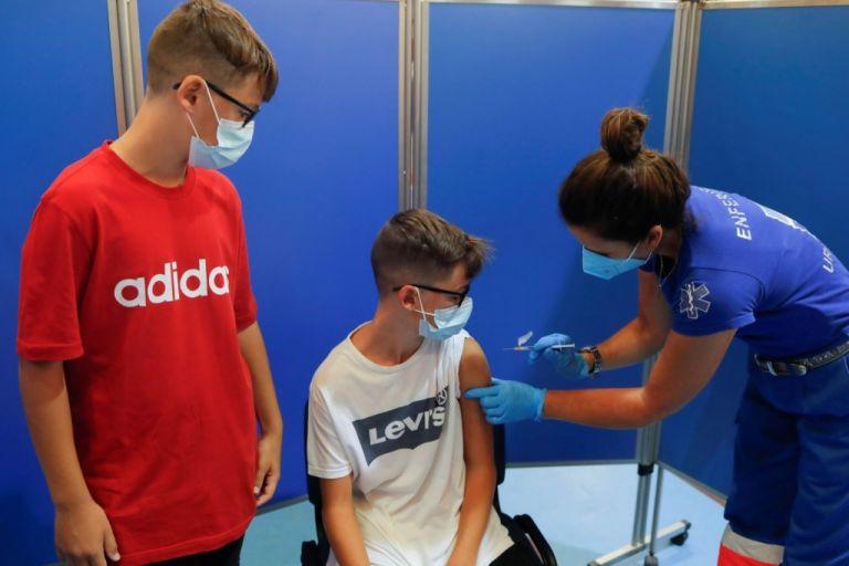 Πόσα παιδιά 12-17 ετών έχουν εμβολιαστεί   tovima.gr