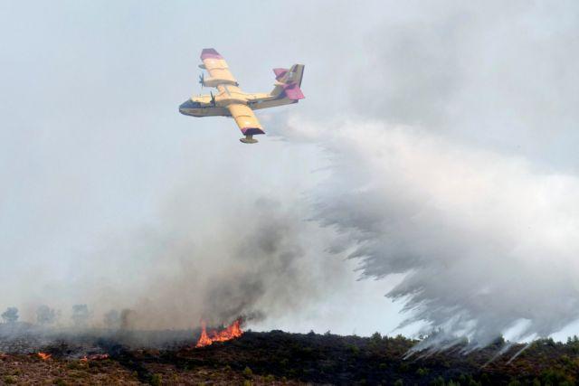 Φωτιά στην Κερατέα – Καίει δασική έκταση   tovima.gr