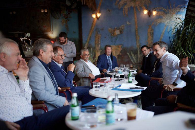 Μητσοτάκης – Συνάντηση με τους δημάρχους της Δυτικής Αθήνας – Τι συζητήθηκε   tovima.gr